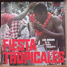 LUIS BORDON Y SU  HARPA PARAGUAYA FIESTA TROPICALES HOLLAND PRESS LP DISCOFOON