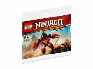 Lego Ninjago Legacy Sam-X Samurai 2 in 1 #30533 Brand New Sealed Set Mini Kit