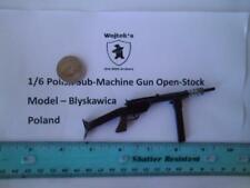 xx    1/6 Homemade WWII Polish Sub-Machine Gun Open-Stock Blyskawica Poland