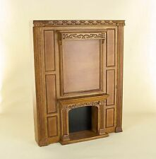 "Dollhouse Miniature  ""MANOR"" FIREPLACE   9103-NWN     BESPAQ DIRECT"
