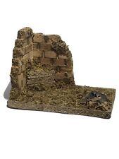 """New ListingFontanini Italy Bird Shelter 5"""" Village Nativity Accessory 50196 Nib."""