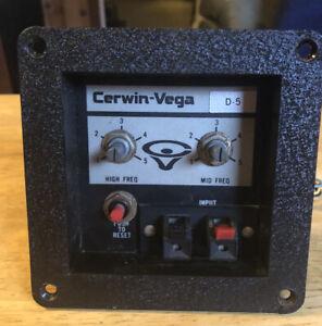 Cerwin Vega D5 Speakers (1) Crossover Unit, Fully Tested