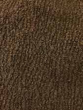 Mocha Brown Chenille Upholstery Fabric - By The Yard
