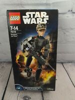 LEGO STAR WARS BUILDABLE FIGURE - 75119 - SERGEANT JYN ERSO. Complete