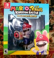 Mario + Rabbids Kingdom Battle Collector's Edition (Nintendo Switch) New/Sealed