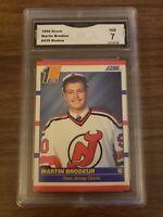 MARTIN BRODEUR 1990 SCORE ROOKIE CARD #439 GMA NM 7
