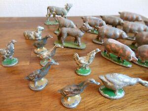 QUIRALU ALUDO Lot animaux de la ferme