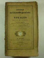 1834 Abrégé de l'histoire générale des VOYAGES Jean-François de la Harpe CHINA