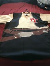 Peoria Chiefs Star Wars Hans Promo Jersey Game Worn Players Autographed XXL 2XL
