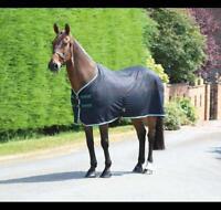 Shires Tempest Original Scrim Cooler Horse/Pony Rug in Black