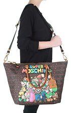 Super MOSCHINO Couture X Jeremy Scott Super Mario TEAM Nintendo DUFFLE BAG XL