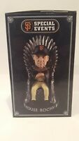 """2019 SF GIANTS BRUCE BOCHY """"Game of Thrones """" Bobblehead """"House of BOCHY"""" RARE !"""