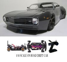 1/10 Scale CAMARO RTR Custom RC Drift -Cars  2.4Ghz & Charger gunmetal