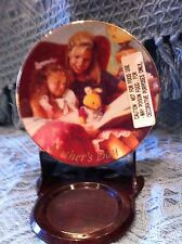 "Nos Avon 1998 Porcelain Mother'S Day Plate Collection ""Special Moments"""