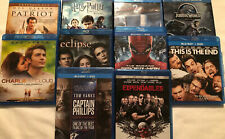 Lot 10 Blu-Ray DVDs: Patriot, Jurassic World, Captain Phillips, Expendables....