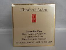 Elizabeth Arden Ceramide Eyes Time Complex 60 Eye Capsules New in Sealed Box