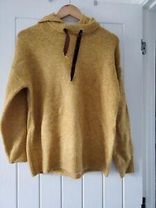 Falmer Mustard Hooded Jumper Size Small - BNWOT