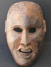 Masque de caractère en Bois du NEPAL