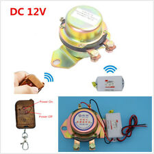 Car Remote Control Electromagnetic Battery Switch Disconnect Power Master Kill