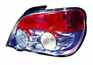 DEPO Rear Light Right Red Chrome For SUBARU Impreza 84201F1440