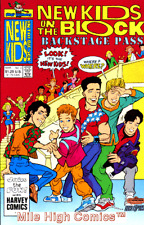 NEW KIDS ON THE BLOCK BACK STAGE PASS (1990 Series) #4 Very Good Comics Book