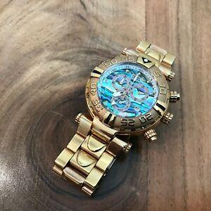 Invicta Reserve Subaqua Noma 1 Rose Gold Abalone Dial 47mm Diamond Marker Watch