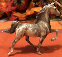 Rare Vintage Breyer Stablemate 5001 Dapple Gray Saddlebred