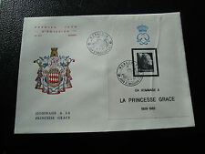 MONACO - enveloppe 1er jour 19/4/1983 (yt bloc n° 24)  (cy51) (pliure)
