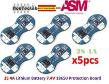 5pcs 2S 4A Li-ion Lithium 18650 BMS PCM 7.4V Battery Protection Board