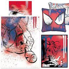 Spiderman UNDERGROUND Copripiumino, Cuscino quadrato, Coperta in pile Bundle Bedset