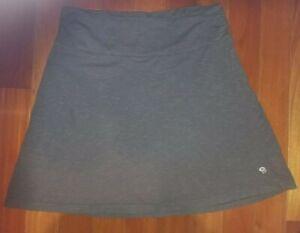 Woman's MOUNTAIN HARD WEAR Grey Cotton Blend Skirt Size Large L