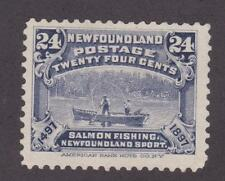Newfoundland 1897 #71 Discovery of Newfoundland (Fishing) - Fine, MH no gum