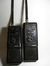 Lot of 2 Uniden CB Radio Pro 340XL Citizens Band Radio Walkie Talkies - Untested