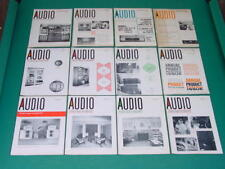 1964 Audio Magazines, Complete Year, 12 Issues
