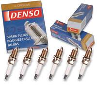 6 pc Denso Standard U-Groove Spark Plugs for Audi Q5 3.2L V6 2009-2010 Tune wx