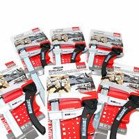 BESSEY® KLIKLAMP KLI 120mm-400mm QUICK RELEASE F CLAMPS RATCHET BAR STEEL STRONG