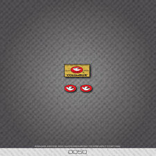 0050 Columbus Tubi Rinforzati Garantiti Bicycle Frame Sticker - Decal