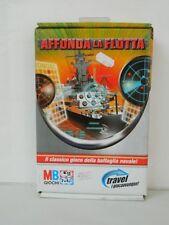 Gioco in scatola AFFONDA LA FLOTTA tascabile MB GIOCHI battaglia navale G61