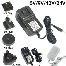 Lot Replacement 5V 9V 12V 24V 1A 2A 3A Adapter Power Supply Driver AC To DC