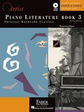 Piano Literature - Book 3: Developing Artist Original Keyboard Classics (The De