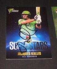 Jacques Kallis (Sth Africa) signed SuperStars Sydney Thunder BBL Card