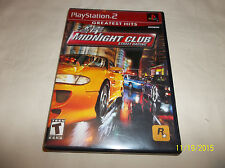 Midnight Club: Street Racing (Sony PlayStation 2, 2000)(Complete)