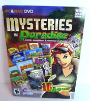 Mysteries in Paradise New Sealed, DVD-ROM Games - Masque (Windows/Mac, 2011)