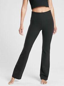 ATHLETA  Studio Flare Pant  XL Black NWT  Yoga  Powervita   #487596 Workout
