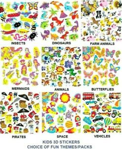Summer Stickers Backed Self Adhesive Shapes Childrens & Adult Crafts Card Making