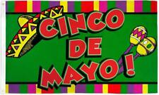 New Cinco De Mayo 3 X 5 Flag 3x5 mexico decor banner wall #520 Sign new mexican