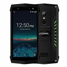 Poptel P8 Rugged Smartphone, 4G Dual SIM IP68 Waterproof Outdoor Phone Android