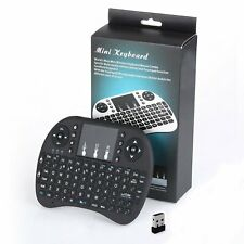 2.4G RF Mini Wireless Keyboard Touchpad Mouse Handheld TV HTPC Andriod Black