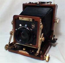 WISTA FIELD WOODEN CAMERA MODEL 45DX AND RODENSTOCK LENS