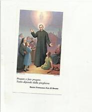 93241 santino holy card beato francesco faa di bruno